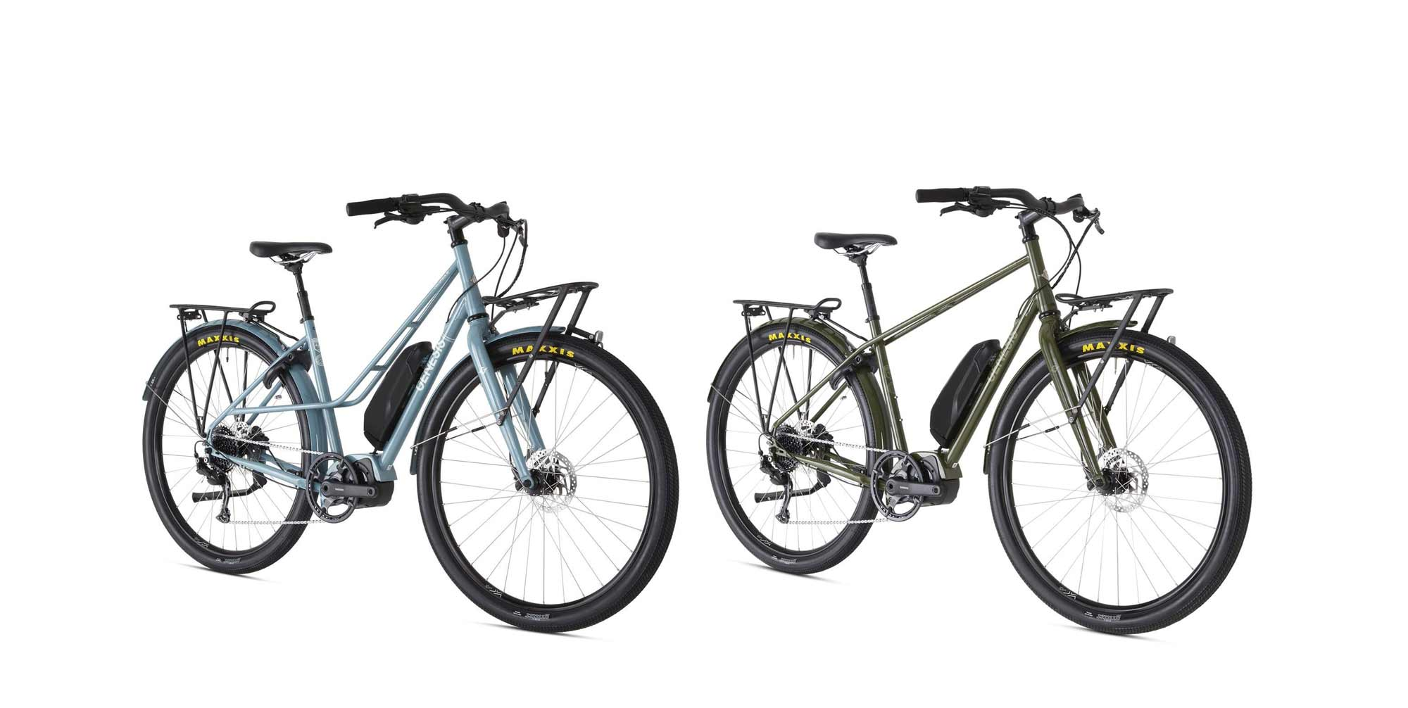 Introducing: Our first E-bikes